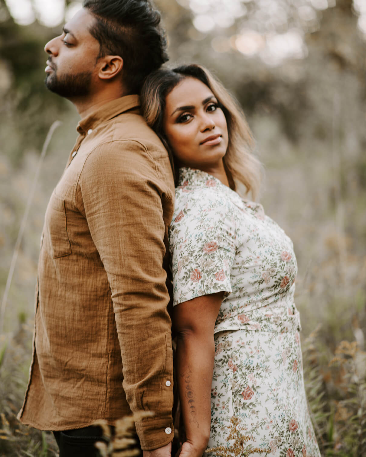 Beautiful Indian couple standing back to back | Marriage Counseling and Couples Therapy in Southlake, TX | marriage counseling southlake tx | therapy in Southlake, TX | Colleyville 76034 | Grapevine 75019 |  Keller 76262 |  Flower Mound 75022 | Dallas 75261